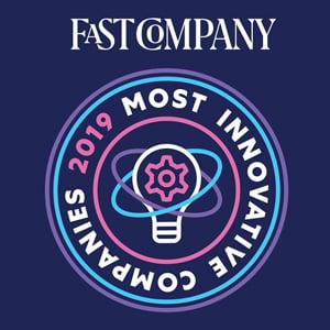 2019 Fast Company Most Innovative Company Award