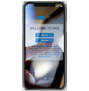 CaregiverConnect iOS application