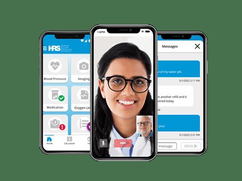 HRS PatientConnect Mobile communication