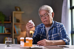 patient with medication