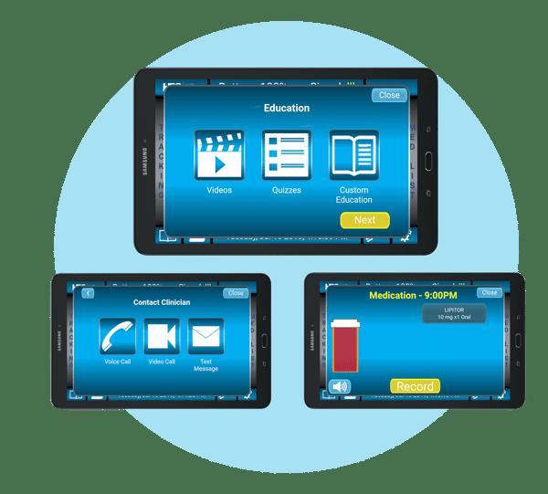PatientConnect Core tablets