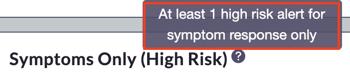 PD 1.2.3 - Symp High Risk