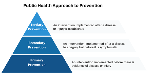 Public Health approach to prevention
