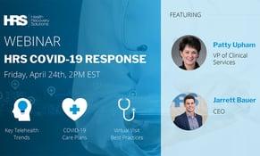 Webinar: HRS' COVID-19 Response