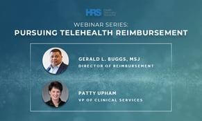 Webinar Series: Pursuing Telehealth Reimbursement