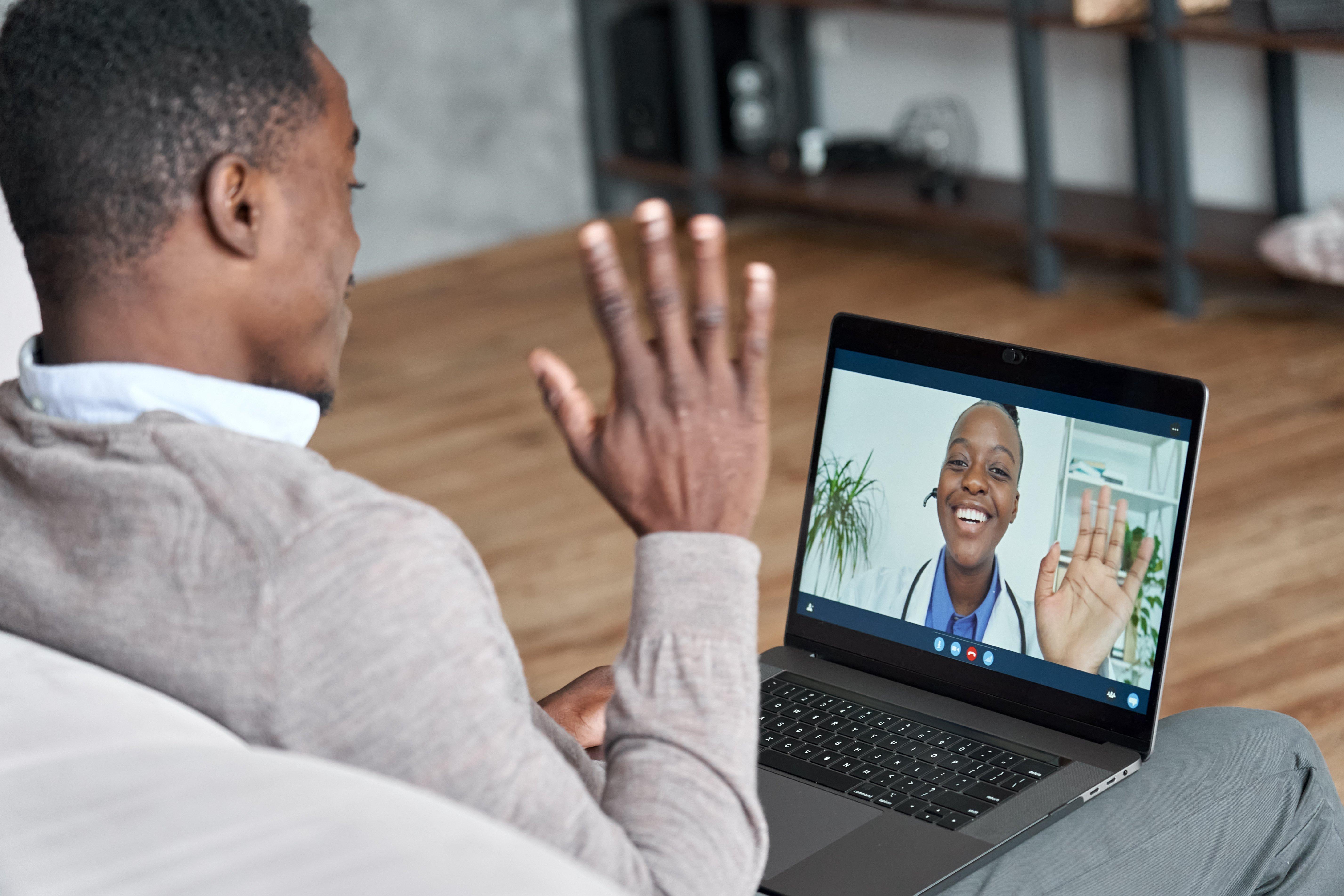 Virtual visit webside manner