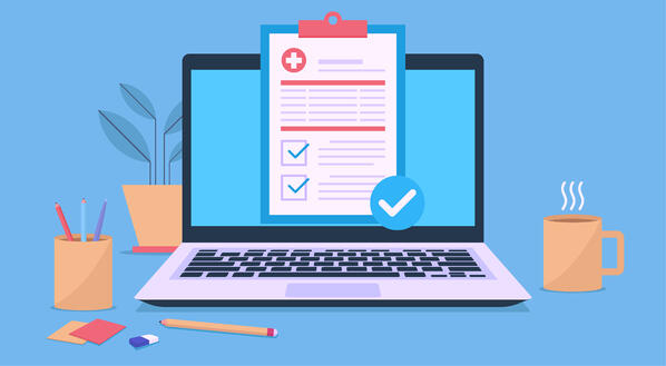 appointment checklist on patient computer unlocking the digital front door