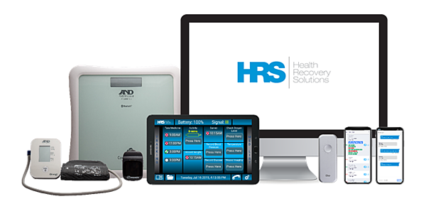 HRS telehealth technology and hardware