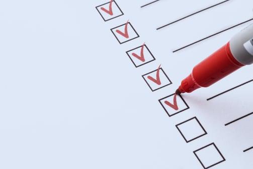 telehealth program application checklist
