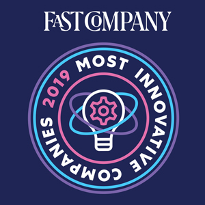 2019 Fast Company Most Innovative Company Award