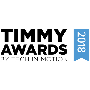 2018 Timmy Awards Best Technoloy Company