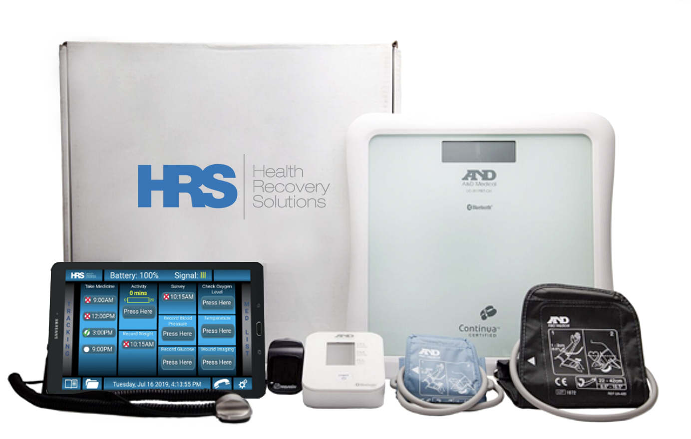 PatientConnect Complete devices for in-home use
